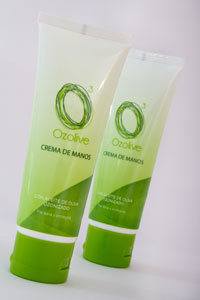 Hand cream  with Ozonated Olive Oil